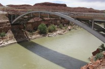 San Juan River Bridge in Utah