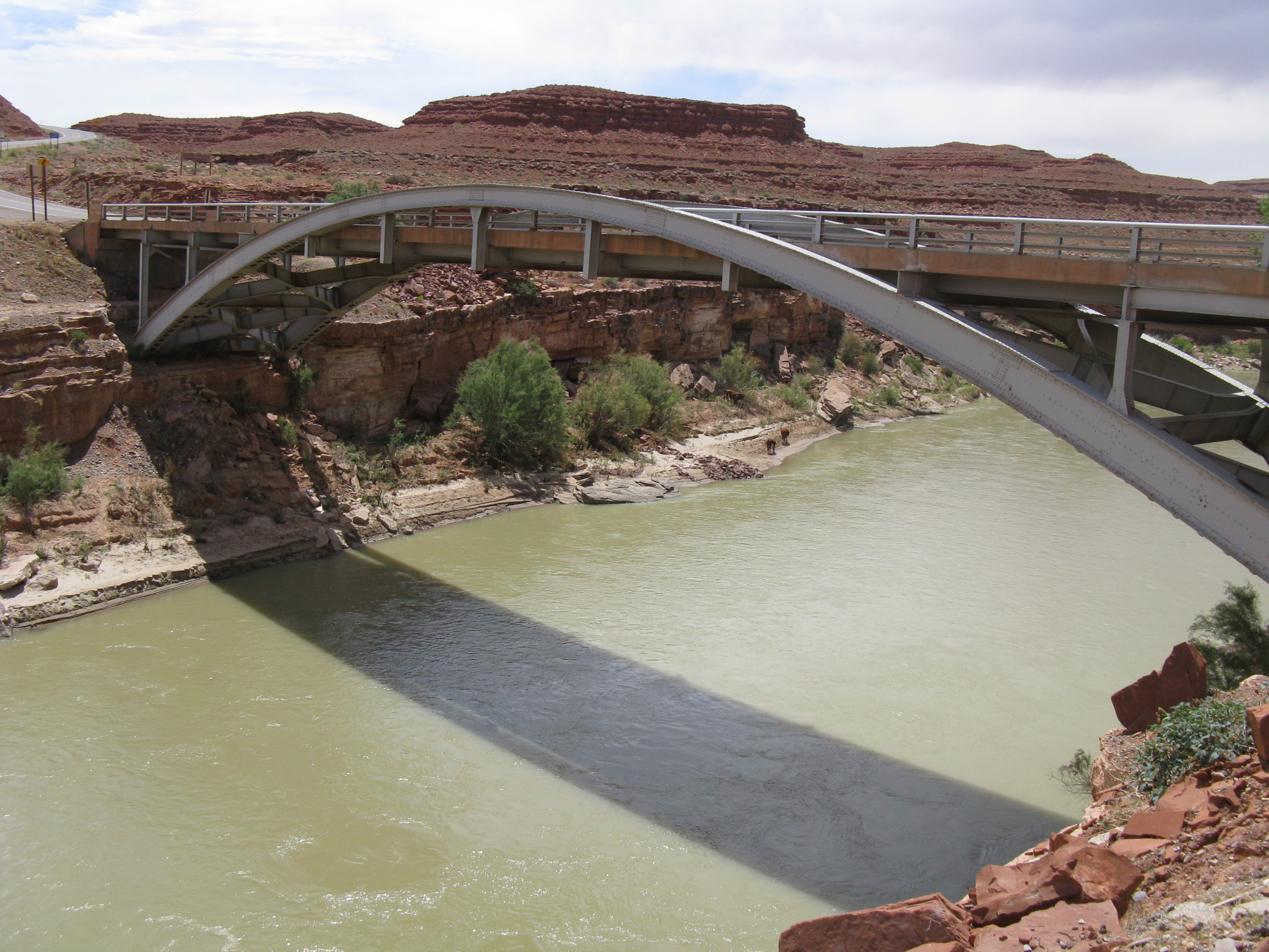 San Juan River Bridge in Utah