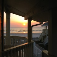 Sunrise in New Smyrna Beach, FL