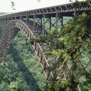 New River Gorge Bridge, WV Close-up